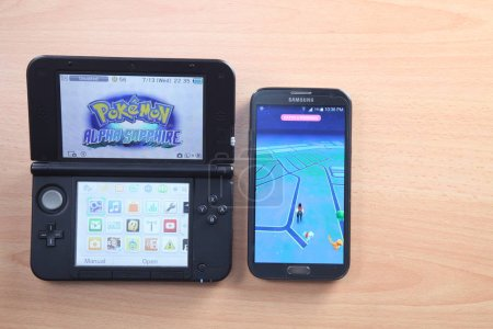Pokemon nitendo 3ds to Pokemon Go