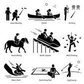 Outdoor Club Games and Recreational Activities
