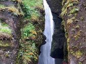 Iceland waterfall in Fjadrargljufur Canyon 2017