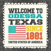 Retro card Typography design vector illustration