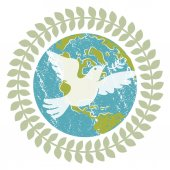 An image of a World Peace Dove
