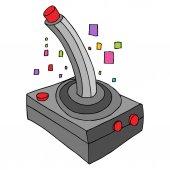 An image of a retro game controller