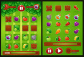 all elements for oyur match 3 game farm vegetables fruits be