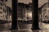 Rome Pantheon view