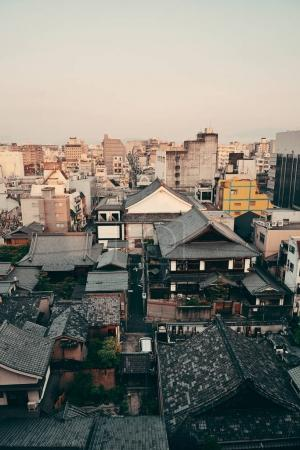 Kyoto city view