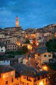Siena skyline view