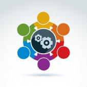 Gears - enterprise system theme