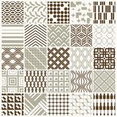 Set of endless geometric patterns