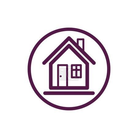 Home symbol, estate agency emblem