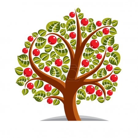 Stylized branchy tree