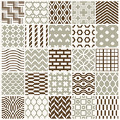 Graphic ornamental tiles collection