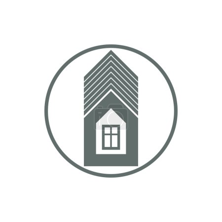 Home symbol, estate agency emblem