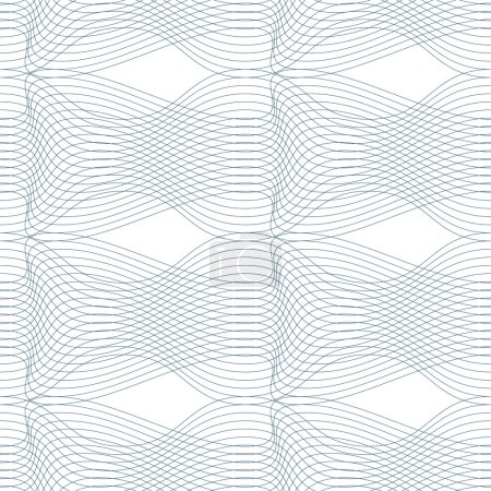 Black and white endless pattern