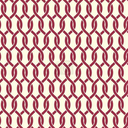 Seamless graphic geometric pattern