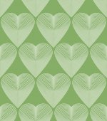 Vector bright ornate pattern with graphic lines symmetric stripy background with romantic love hearts