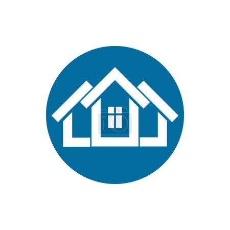 Real estate logo icon,