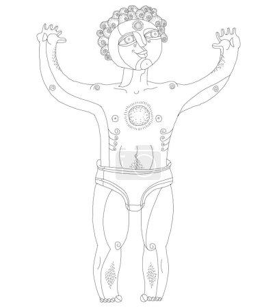 Icon of mystic creature