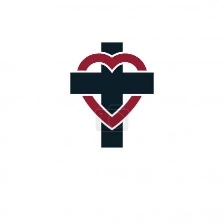 Love of God creative symbol