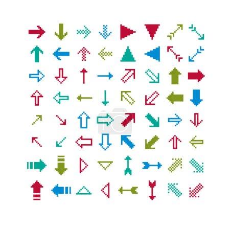Different arrows set