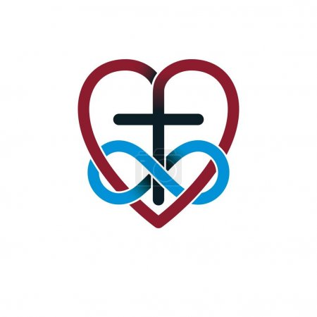 Love of God concept icon