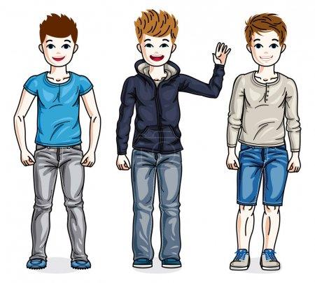 young teenager boys