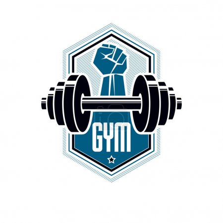 sport club logotype template
