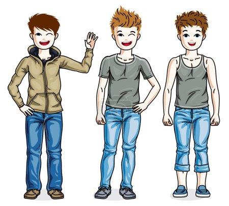 Beautiful little boys