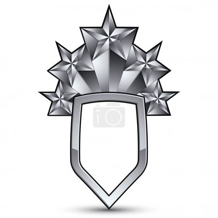 Heraldic 3d glossy icon