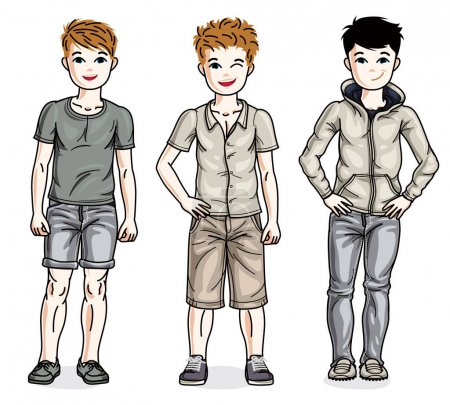Child young teen boys