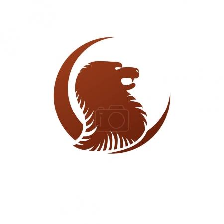 Brave Lion ancient emblem