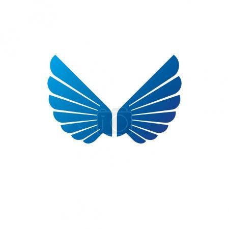 Ancient Symbolic Wings emblem