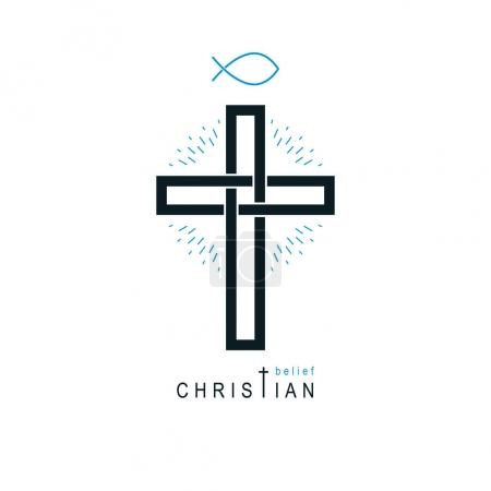 Christianity God religion icon.