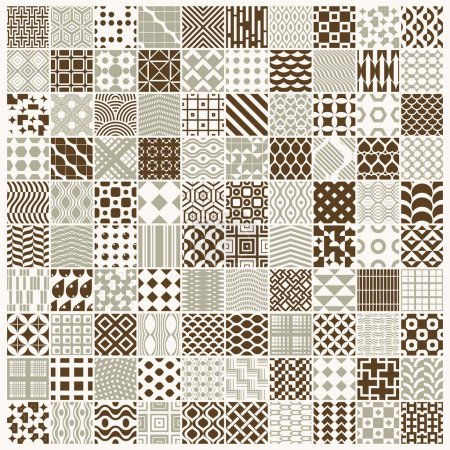 endless geometric patterns