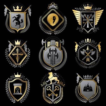 vintage heraldic Coat of Arms