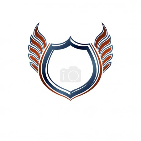 Blank vintage emblem with copy-space