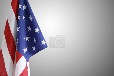USA flag. Copy space