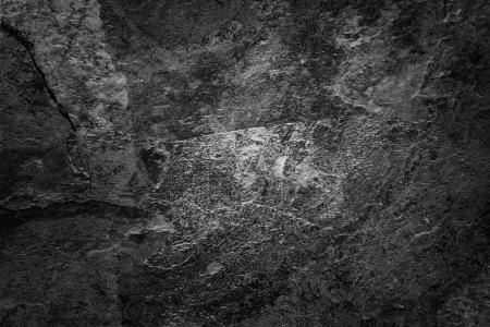 Dark textured wall