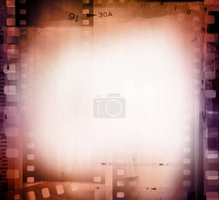 Film frames background