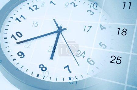 horloge et calendrier