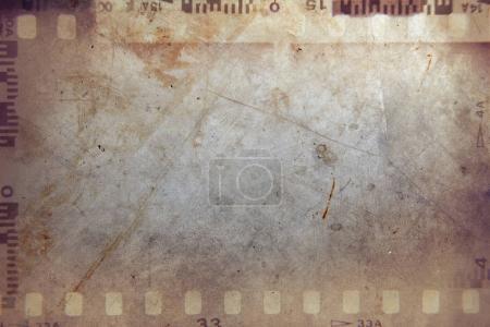 Photo pour Film images négatives fond grunge - image libre de droit