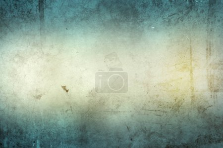 Textured blue and brown concrete background