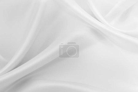 tela de seda blanca
