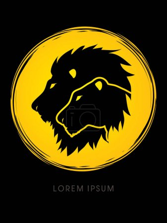 Head Lion and Lioness