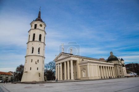 Cathedral Square in Vilnius