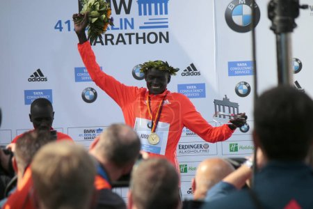 winner of the 42nd Berlin Marathon