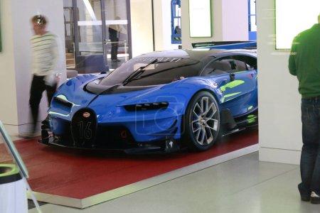 Bugatti видение Gran Turismo для гоночной