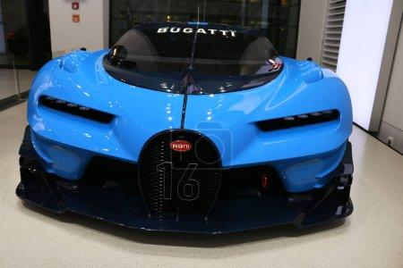 Bugatti Vision Gran Turismo racing
