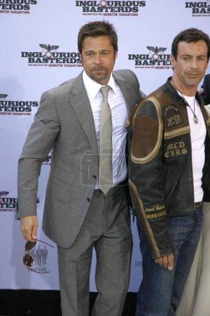 Brad Pitt at the German