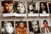Pictures of British celebrities