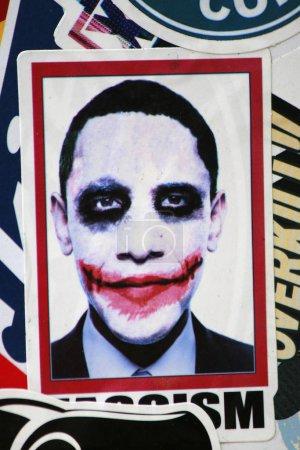 President Barack Obama as Joker